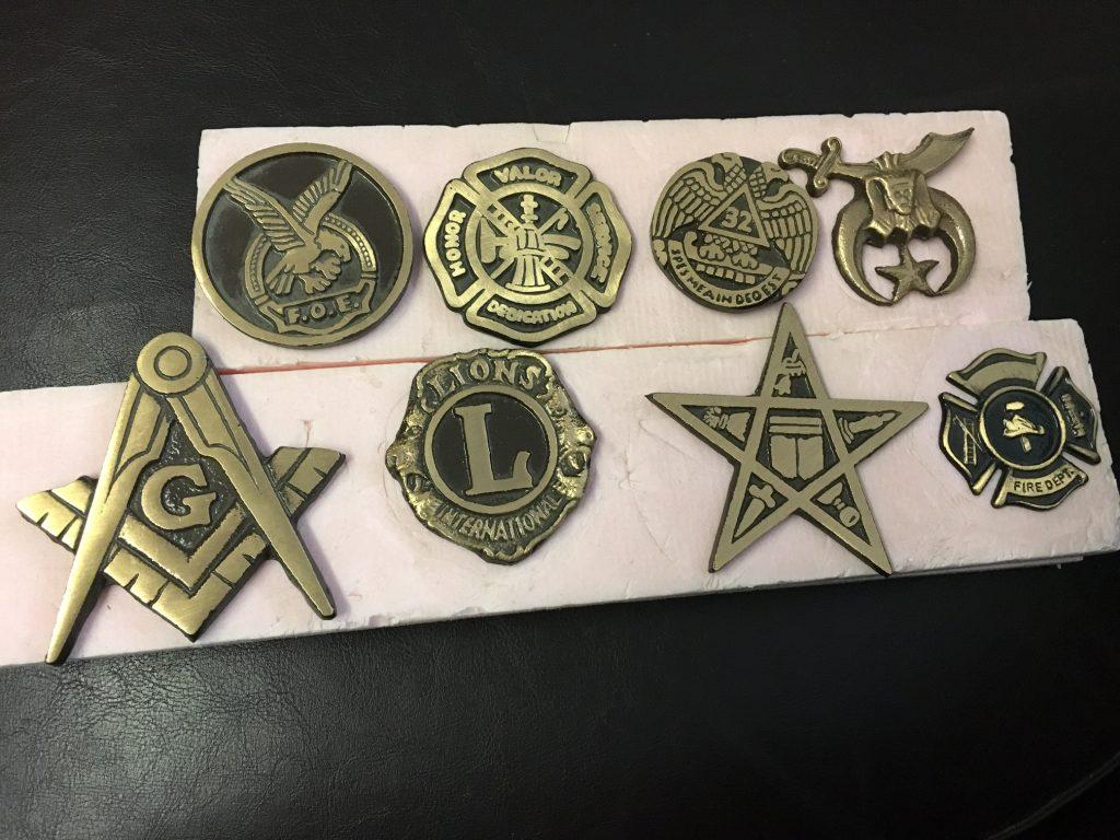 Bronze Emblems